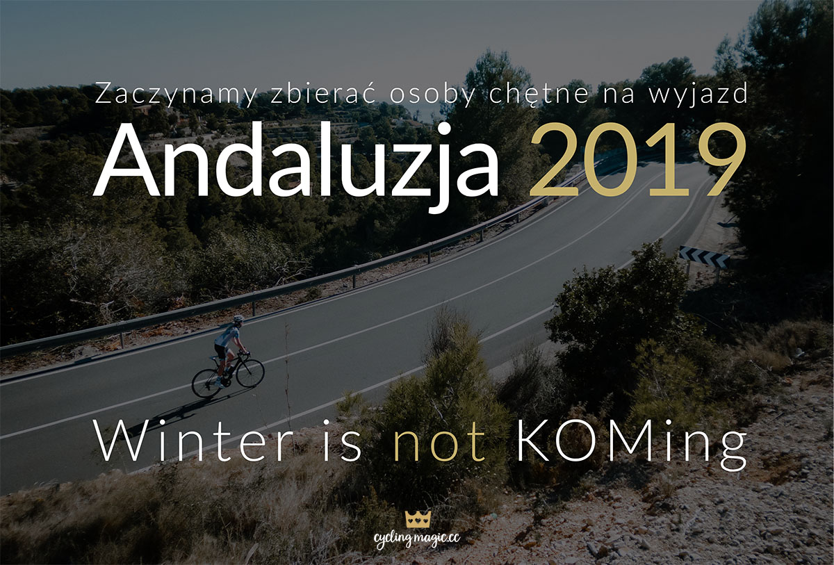 Andaluzja 2019 – szukamy chętnych na zimę